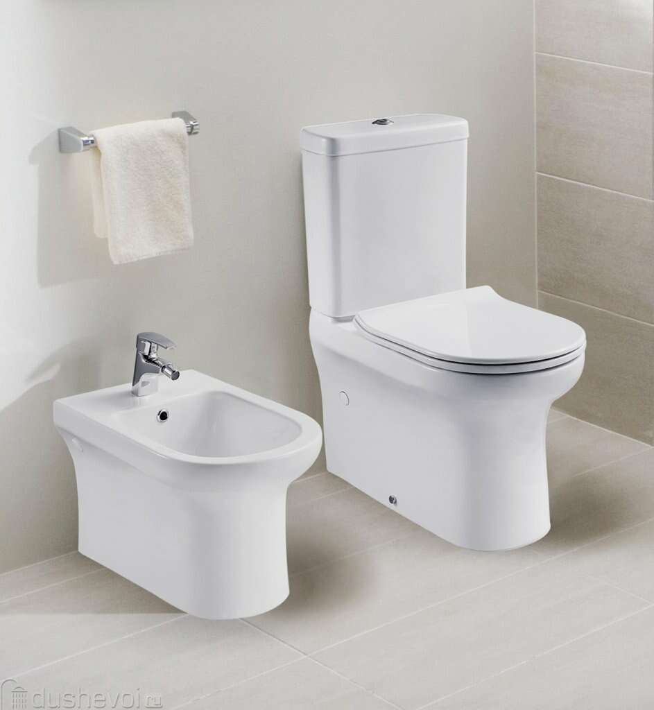 BelBagno Vella-R Чаша P-trap BB620CPR 187261
