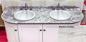 Столешница Caprigo Richmond 160 Bianco Carrara