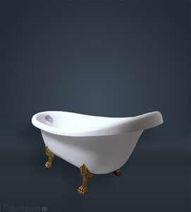 Ванны на ножках отдельностоящие