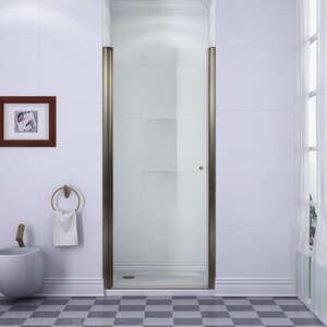 Душевые распашные двери