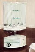 Мебель для ванны угловая