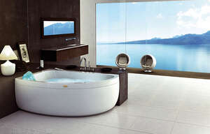 Jacuzzi Aquasoul Offset Base 150x100