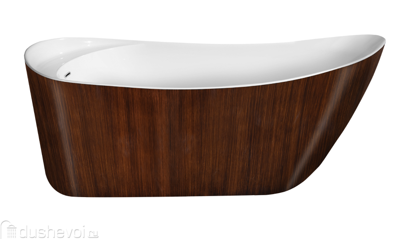 Ванна Lagard Minotti Brown Wood