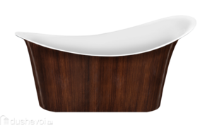����� Lagard Tiffany Brown Wood