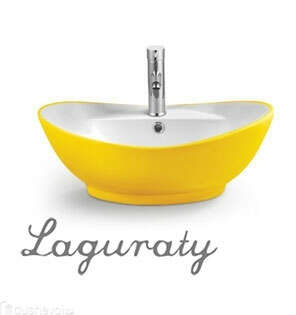 Раковина Laguraty 3218B (yellow)