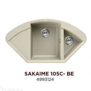 Omoikiri  Sakaime 105С-BE Tetogranit 4993124