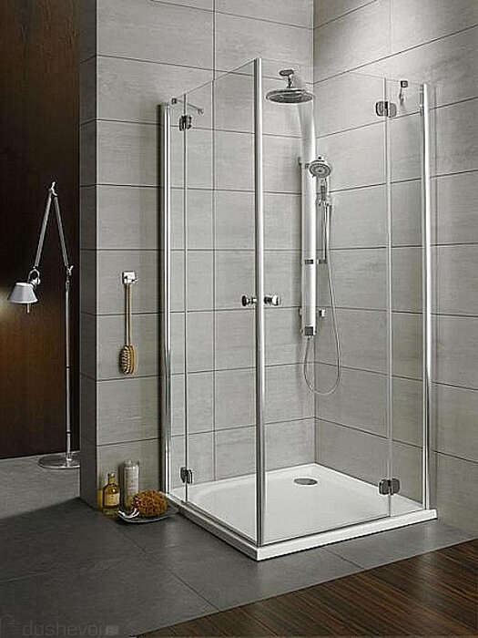 Душевой уголок Radaway Torrenta KDD 100x80 graphite L