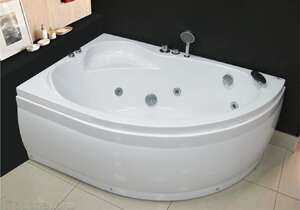 Royal Bath Alpine 150x100 L/R