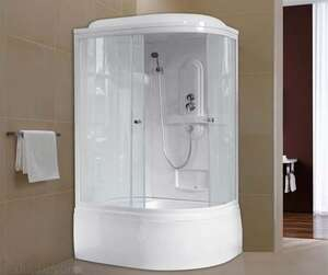 Душевая кабина Royal Bath RB8120BK1-T-L